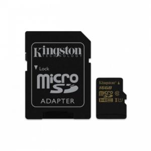 Pamäťová karta micro SDHC Kingston 16 GB class 10