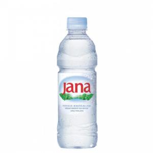 Minerálna voda prírodná Jana nesýtená 0,5l