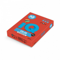 Farebný papier IQ color korálovo červený CO44, A4 80g