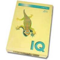 Farebný papier IQ color žltý YE23, A4 160g