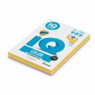 Farebný papier IQ color 4x50 mix neónové farby, A4 80g