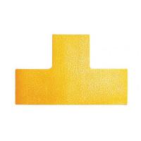 Podlahové značenie `T` žlté...