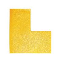 Podlahové značenie `L` žlté...