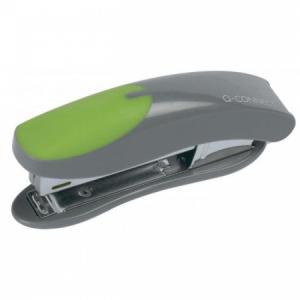 Zošívačka Q-Connect KF00991 sivá/zelená