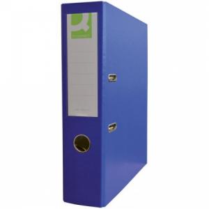 Zakladač pákový Q-connect 7,5cm modrý