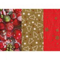 Baliaci papier vianočný mix...