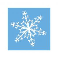 Vianočné servítky snehová...