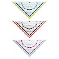 Trojuholník s uhlomerom...