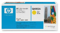 Toner HP Q6002A, Yellow 2600
