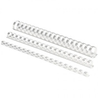 Plastové hrebene 25 biele (50)