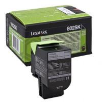 Toner Lexmark 802SK black...