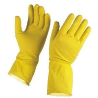 Gumené rukavice...