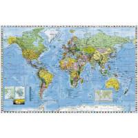 Mapa Svet politický s...