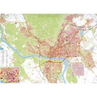 Mapa Bratislava s registrom...