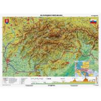 Mapa Slovensko-geografická...