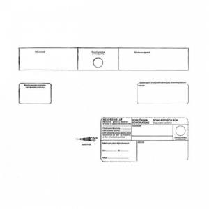 Poštové obálky C4 s páskou, do VR OD biele, 250 ks Nedoposielať