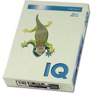 Farebný papier IQ color zelený GN27, A4 80g