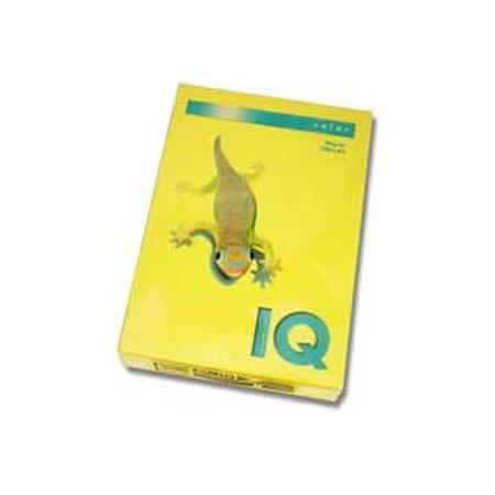 Farebný papier IQ color kanárikovožltý CY39, A4 80g
