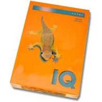 Farebný papier IQ color oranžový OR43, A4 80g
