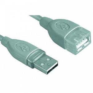 Predlžovací USB kábel A-A 3m
