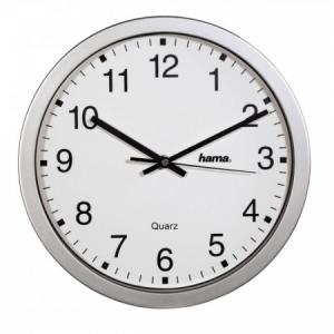 Nástenné hodiny CWA100 30cm strieborné