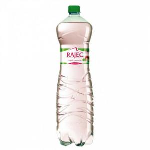 Pramenitá voda Rajec Lesná jahoda jemne sýtená 1,5l