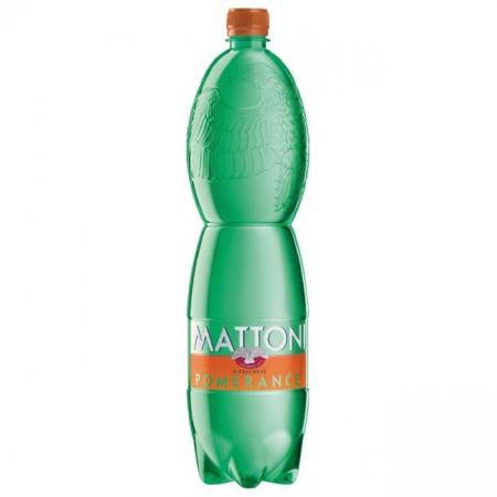 Minerálna voda MATTONI Pomaranč 1,5l