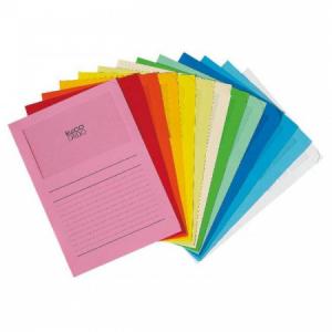 Zakladacie zložky s okienkom ELCO ORDO mix farieb