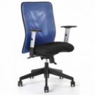 Kancelárska stolička CALYPSO modrá