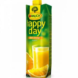 Džús Happy Day Pomaranč 100% 1l