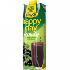 Džús Happy Day Čierna ríbezľa 25% 1l
