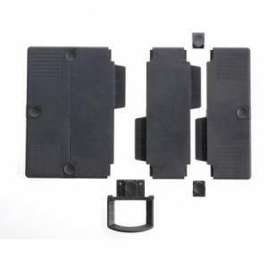 Stredové vložky na rozšírenie podložky nosiča telefónu antracitové