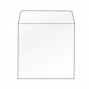Obálky na CD 124x124 bez okienka 100 ks