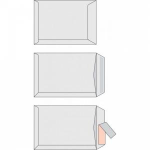 Poštové obálky C4 samolepiace, biele, 500 ks