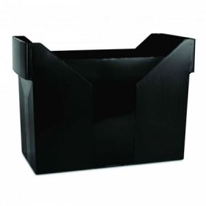 Zásobník na závesné obaly DONAU čierny