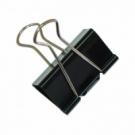 Klipy na dokumenty Office Products 25mm čierne