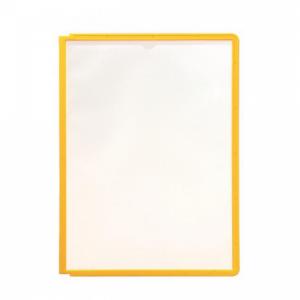 Katalógový panel SHERPA A4 žltý