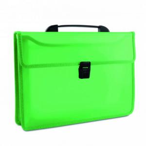 Aktovka plastová s držadlom DONAU zelená