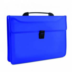 Aktovka plastová s držadlom DONAU modrá