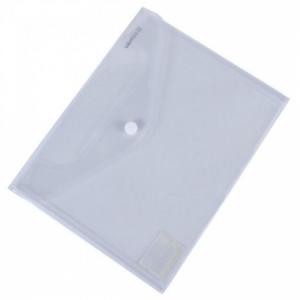 Plastový obal C5 s cvočkom DONAU priehľadný