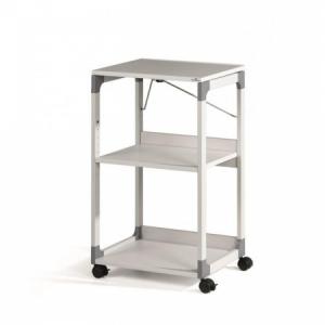 Projekčný pojazdný vozík DURABLE SYSTEM sivý
