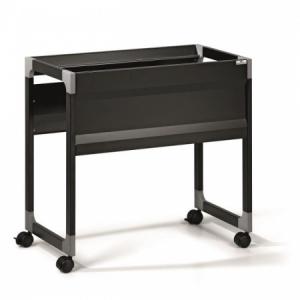 Kartotéka pojazdná jednoradová DURABLE SYSTEM TROLLEY 90 A4 S čierna