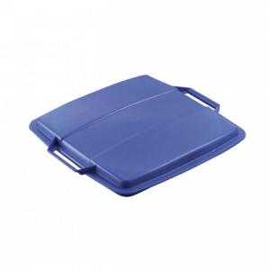 Veko na veľkokapacitný plastový kôš DURABIN LID 90 modré
