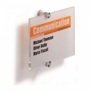 Informačná tabuľka Crystal Sign 210x148 mm
