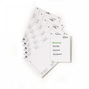 Náhradné kartičky pre Click Sign,Info Sign - 149x210,5 mm
