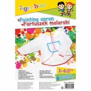 Detská maliarska zástera Gimboo transparentná