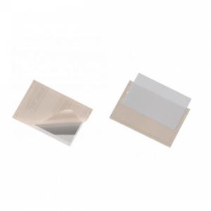 Samolepiace vrecko vizitkové s otvorom zhora DURABLE 94x61mm 10ks