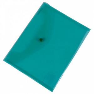 Plastový obal C5 s cvočkom DONAU zelený