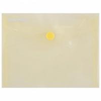 Plastový obal A6 s cvočkom DONAU žltý