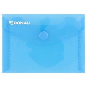Plastový obal A7 s cvočkom DONAU modrý